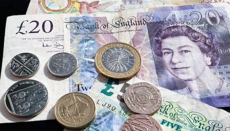 Conversor libras para euros
