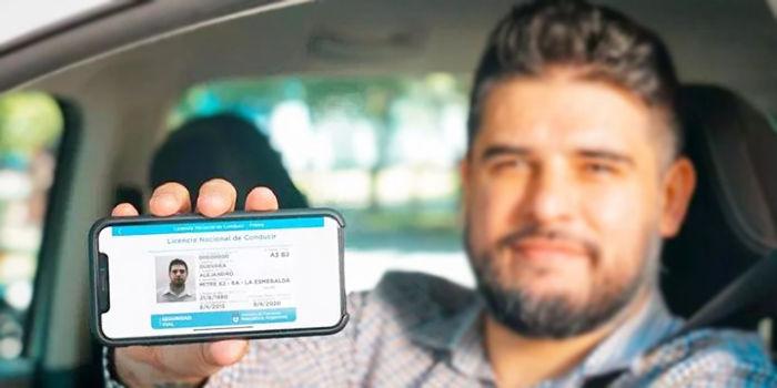 licencia de conducir digital de google
