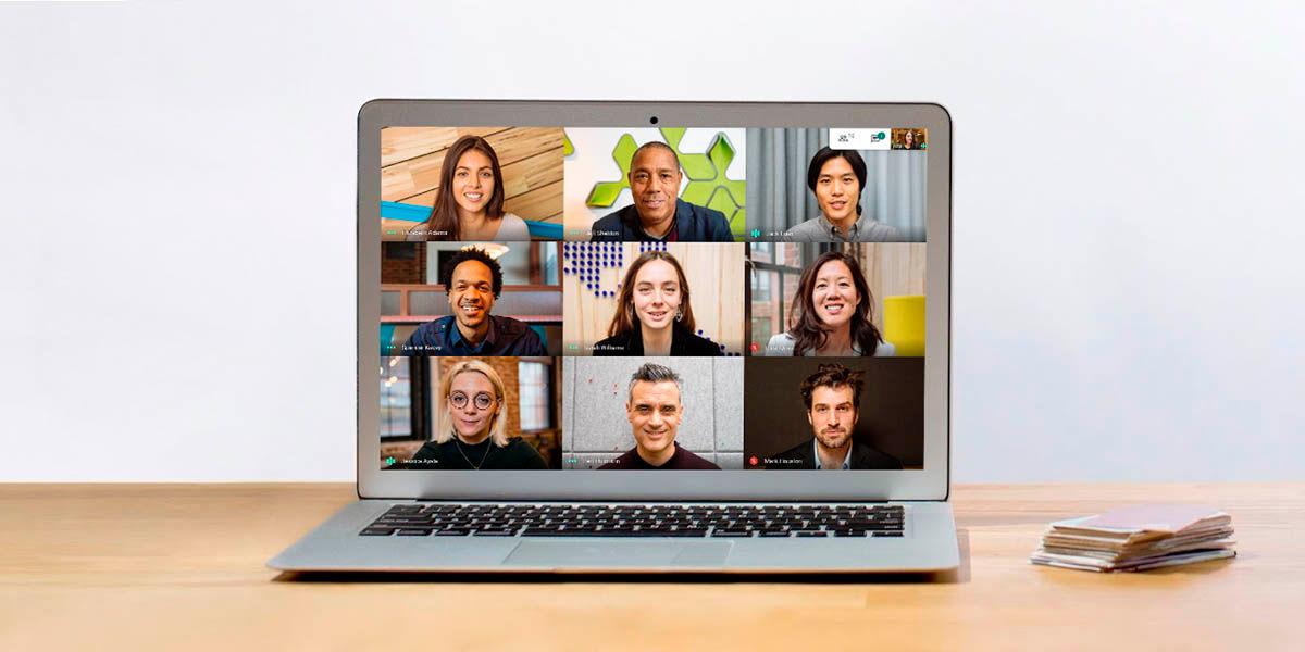 límite personas en pantalla google meet
