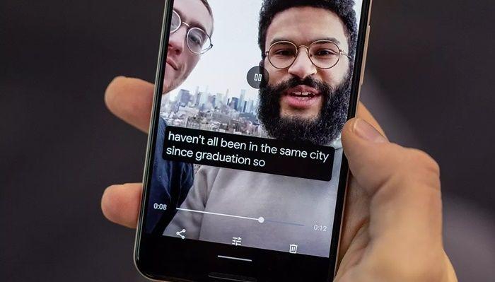 live caption pixel 4