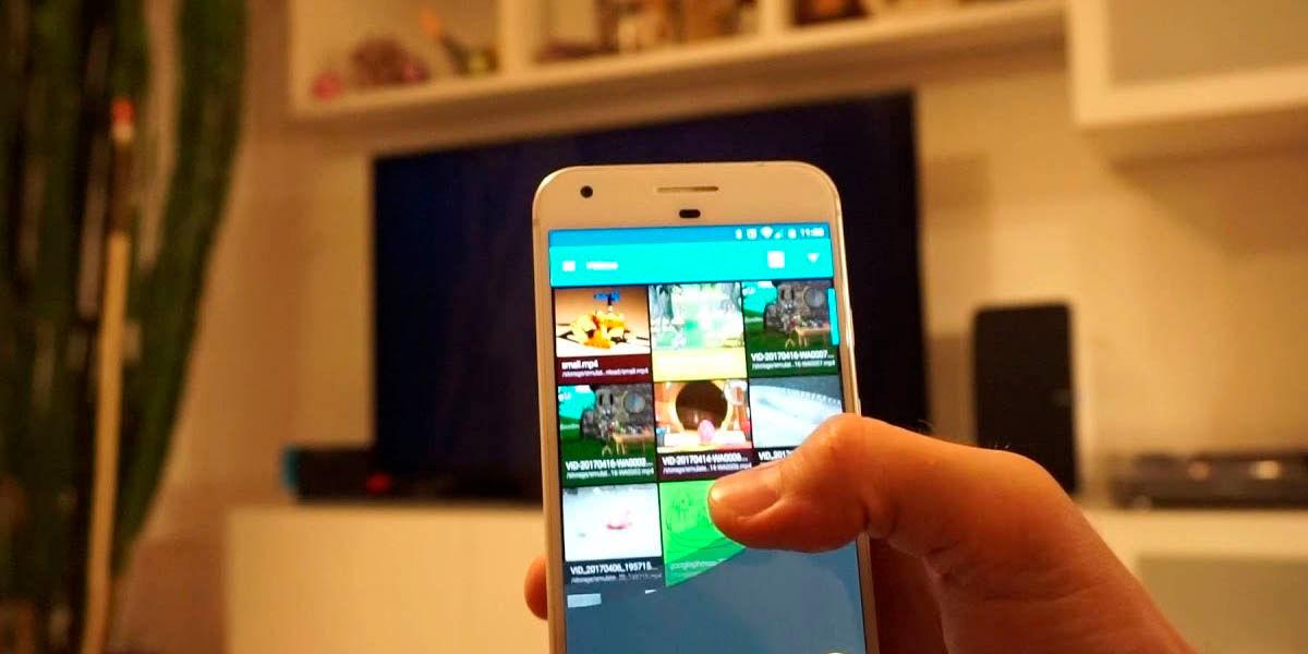 localcast para transmitr contenido de tu móvil al chromecast fácilmente