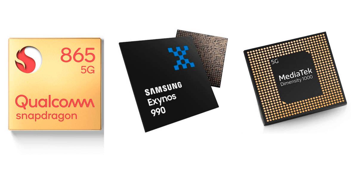los fabricantes de móviles podrían usar otros chips diferentes a los snapdragon en 2021