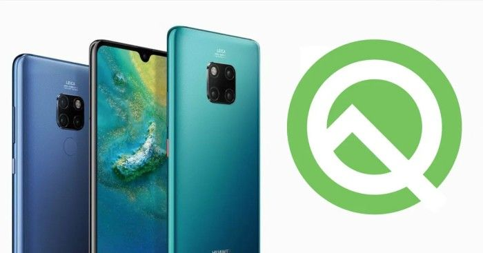 los moviles huawei actualizaran android q