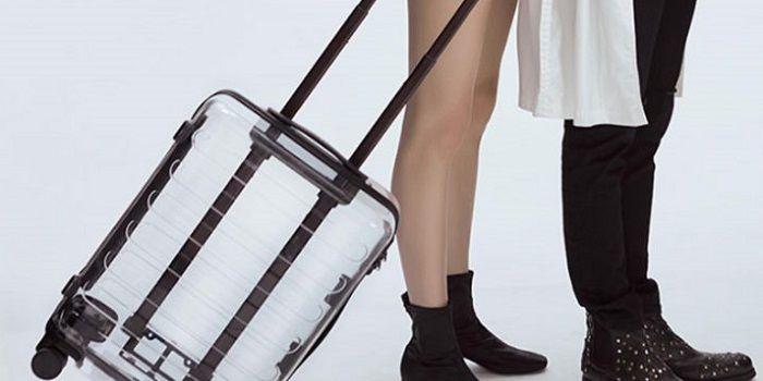 maleta transparente Xiaomi