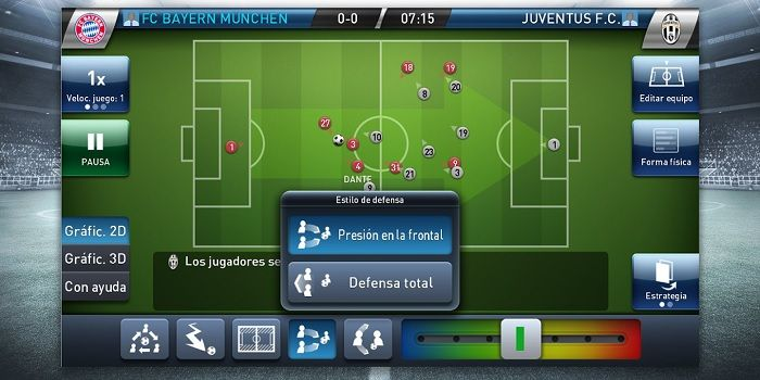 manager futbol android