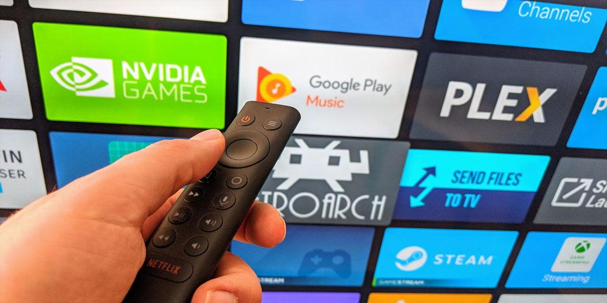 mando a distancia android tv