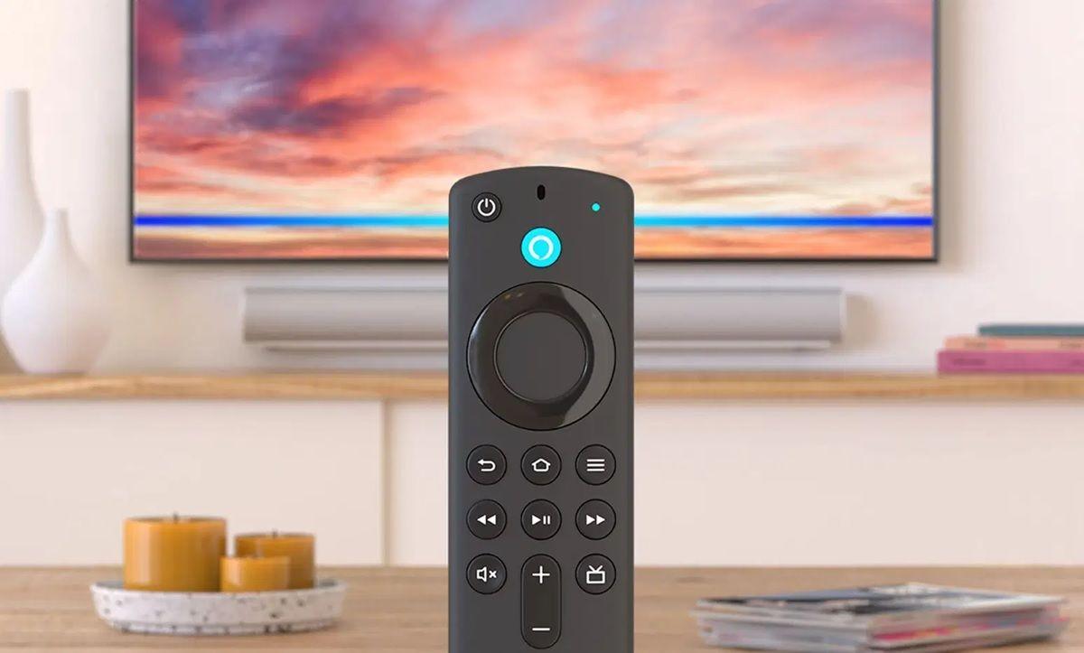 mando de los televisores de amazon