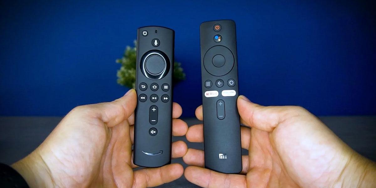 mando xiaomi mi tv stick vs amazon fire tv stick 4k