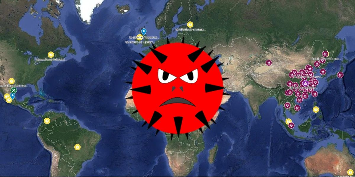 mapa coronavirus wuhan propagacion