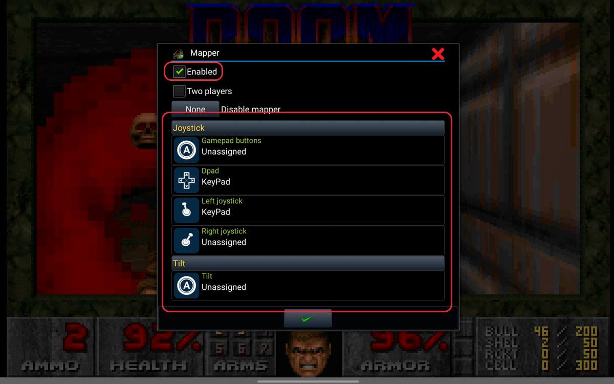 mapear mando para jugar MS-DOS con Magic DosBox en Chromebook