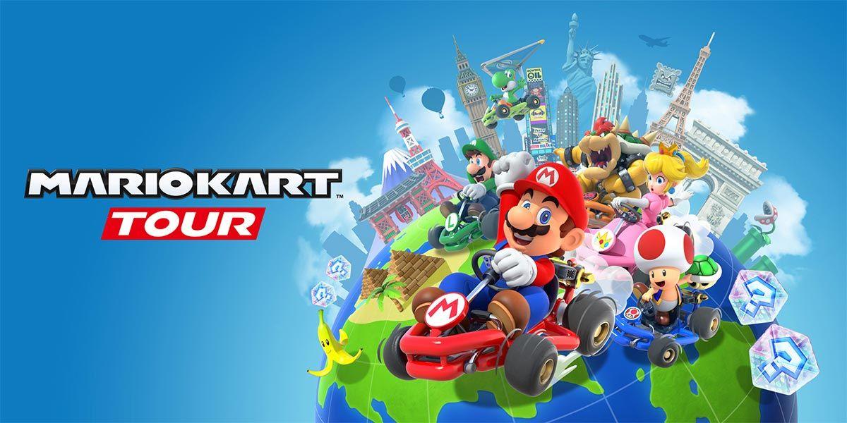 mario kart tour lanzamiento