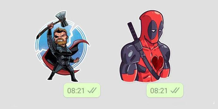 marvel stickers whatsapp