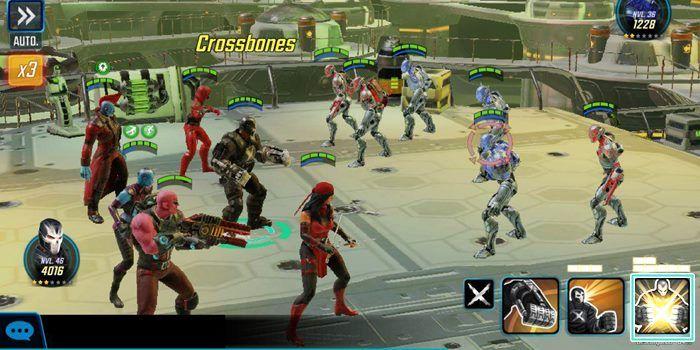 marvel strike force batalla villanos