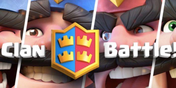 mazos batalla clanes clash royale