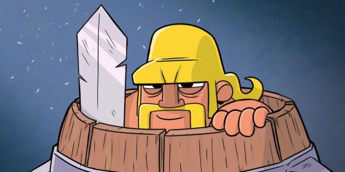 mazos buenos con barril de bárbaro en Clash Royale
