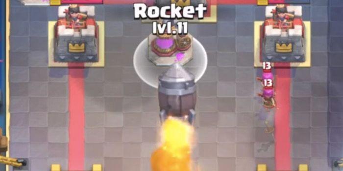 mazos cohete clash royale