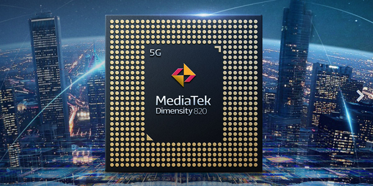 mediatek dimensity 820 5g especificaciones