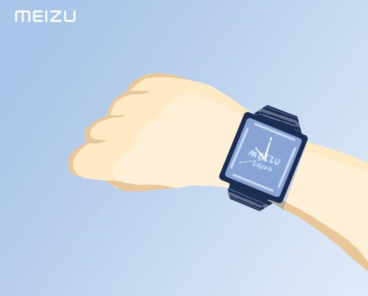 meizu watch poster promocional