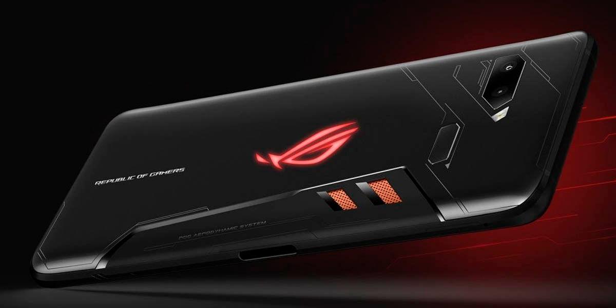 mejor diseño móvil gaming rog phone 2
