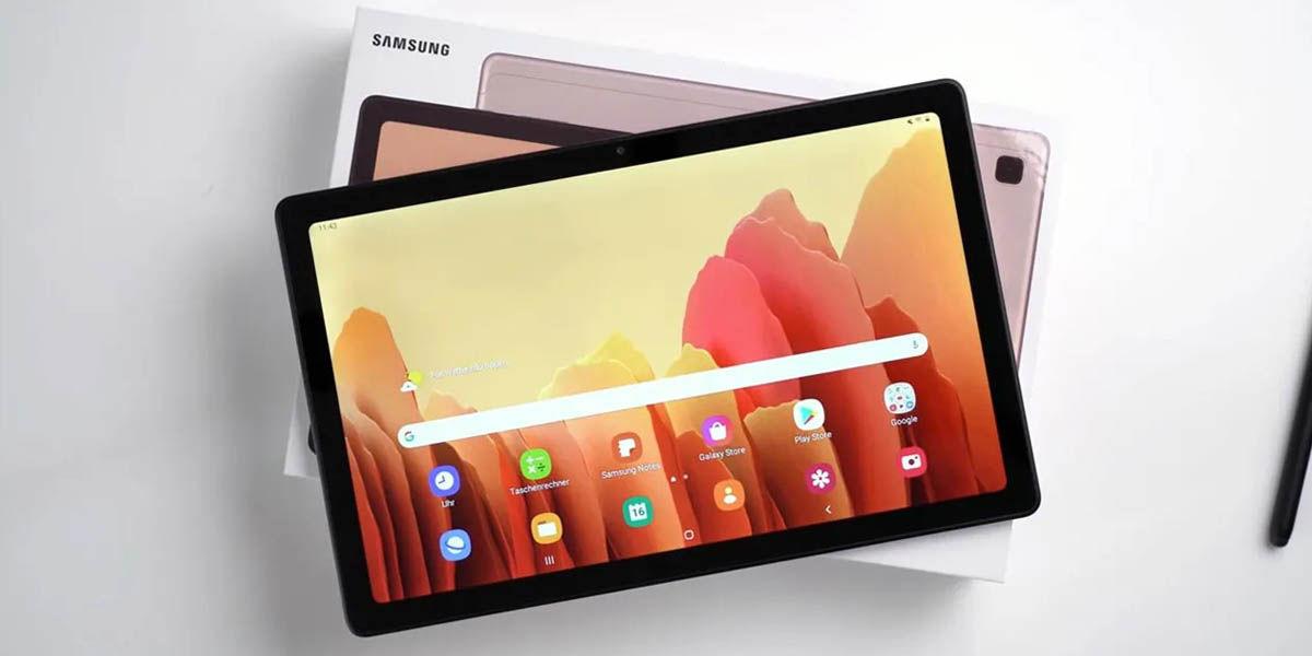 mejor tablet económica para trabajar samsung galaxy tab a7