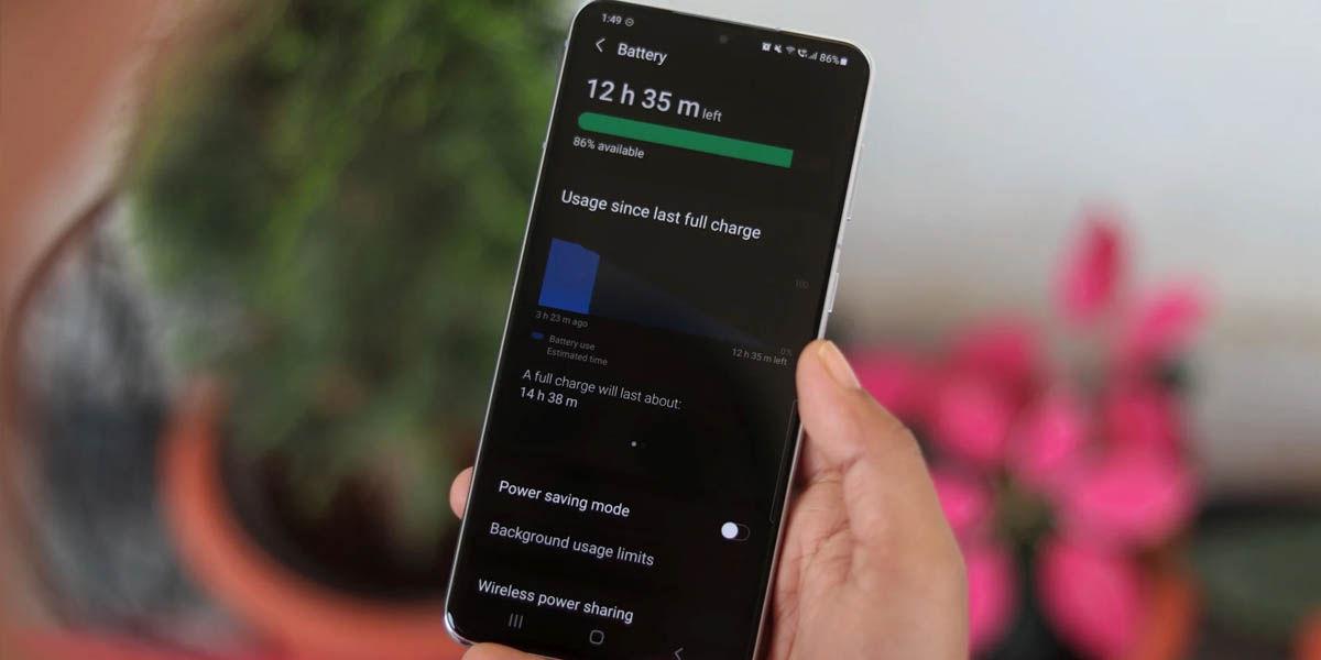 mejorar autonomía samsung galaxy con la velocidad de pantalla