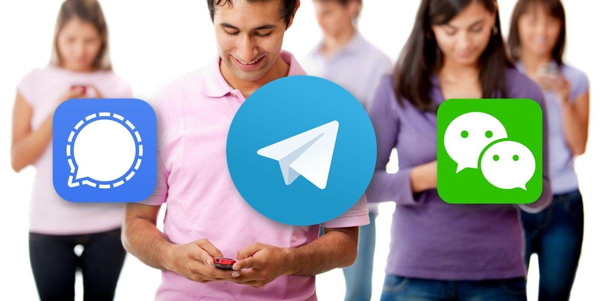 mejores aplicaciones alternativas a whatsapp