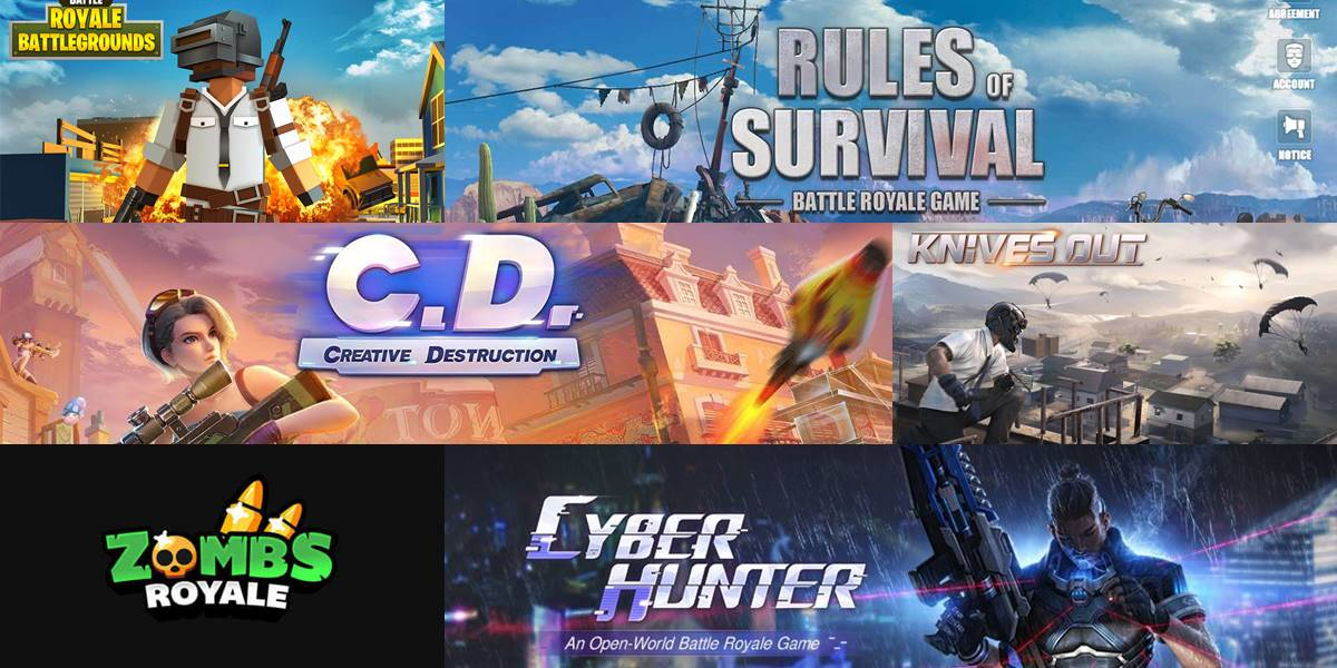 mejores juegos Battle Royale 2020