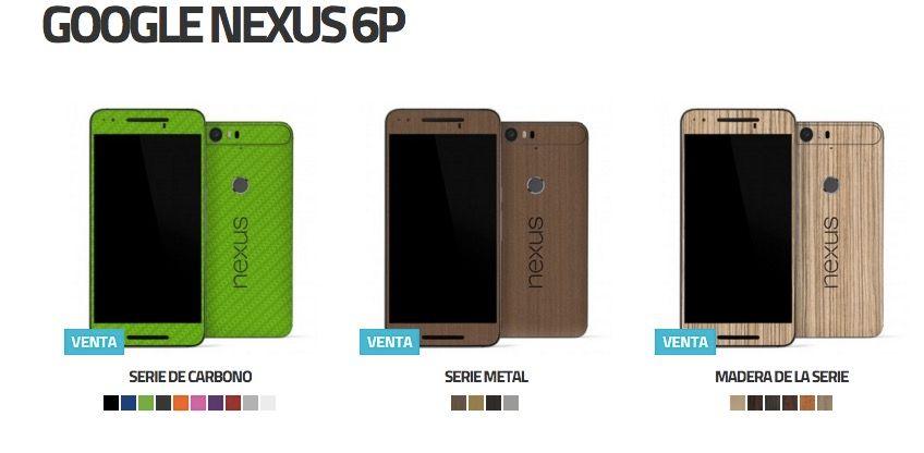mejores skins nexus 6p y nexus 5x