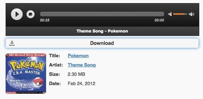 melodia de pokemon