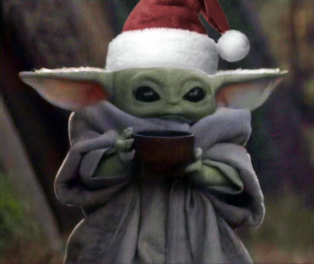 meme navidad 2020 nochebuena babe yoda