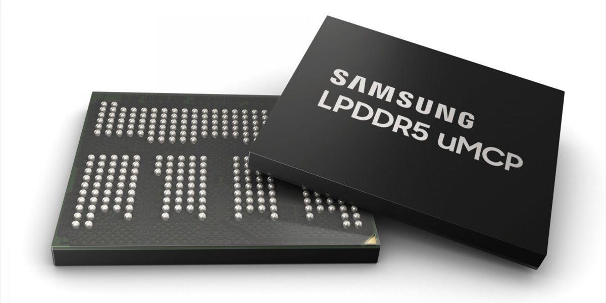 memoria uMCP LPDDR5 de Samsung
