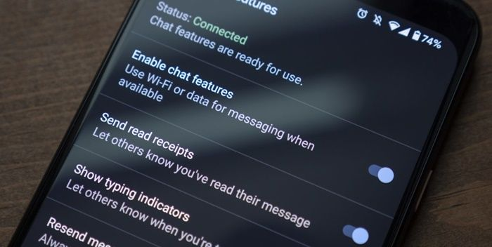 mensajeria rcs android