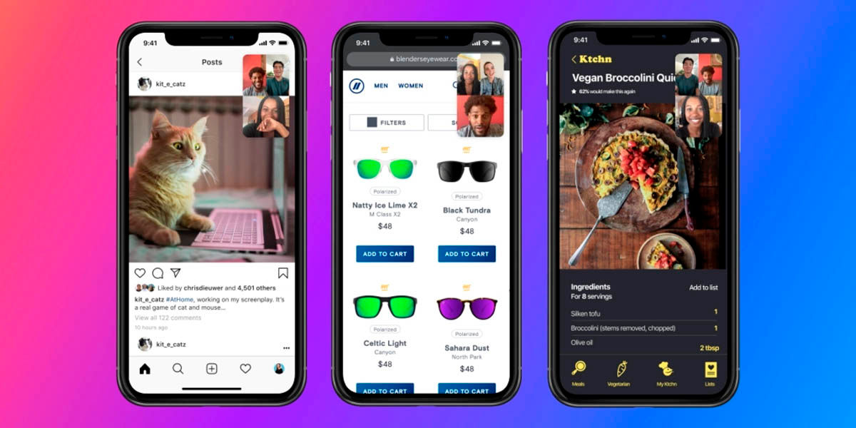 messenger ya te deja compartir la pantalla de tu móvil en videollamadas grupales