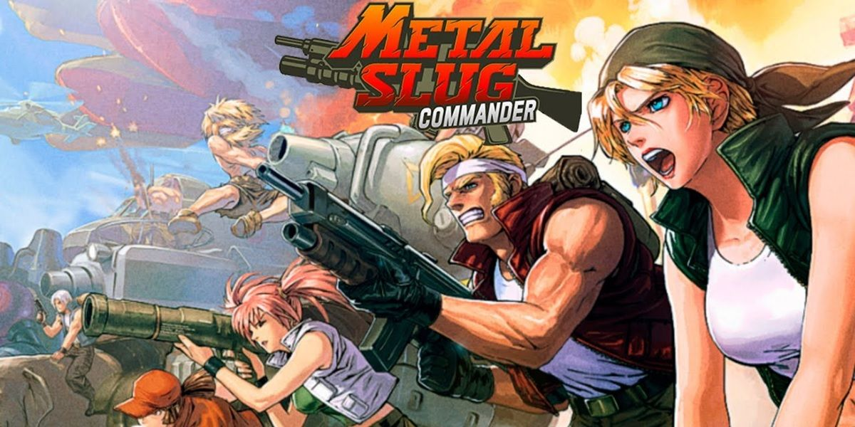 metal slug commander juego