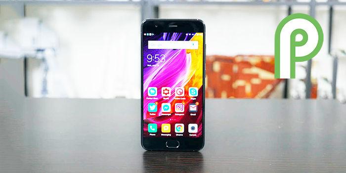 mi 6 android pie