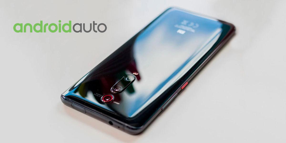 mi 9t android auto