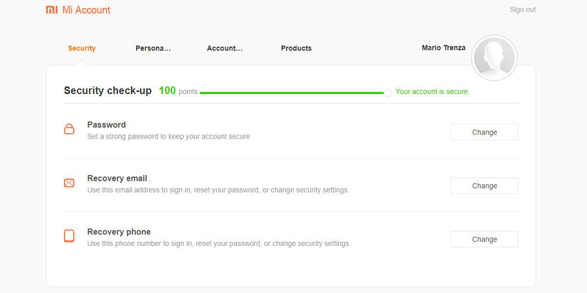 mi account arreglar user portrait scores too low or black