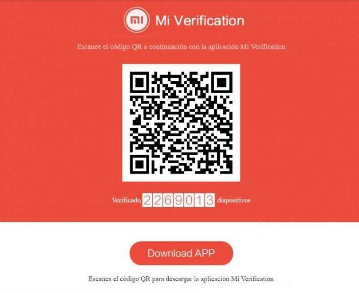 mi verification