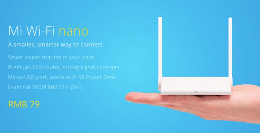 mi wifi nano router barato xiaomi