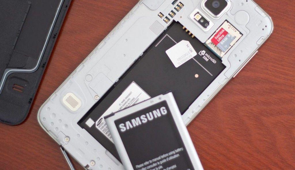 microSD en Galaxy S5