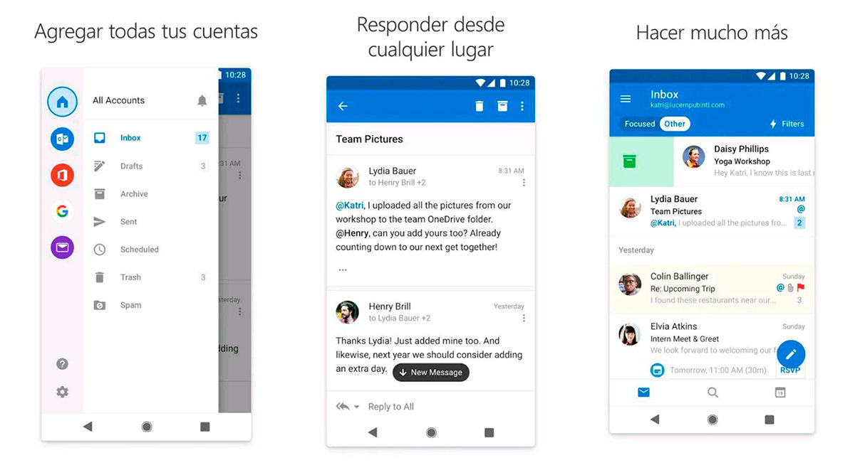 microsoft outlock android