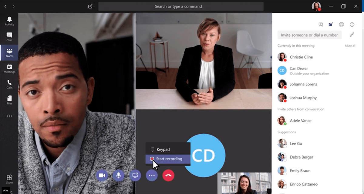 microsoft teams aplicación de productividad y videollamadas compatible con apps microsoft 365