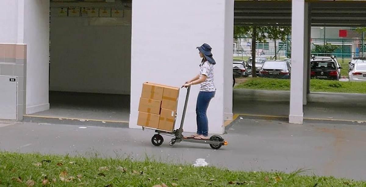 mimo c1 transportando cajas