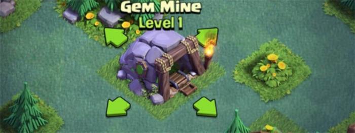 mina de gemas