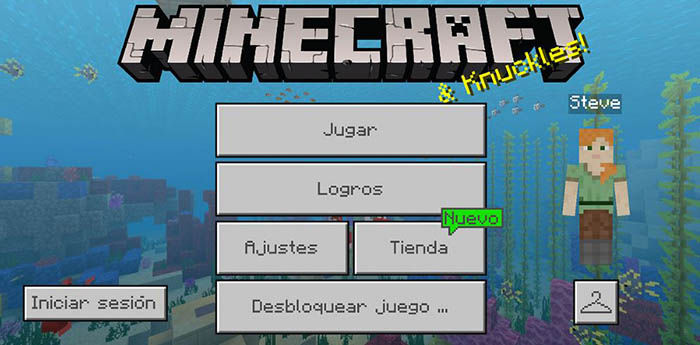 Minecraft Trial para Android