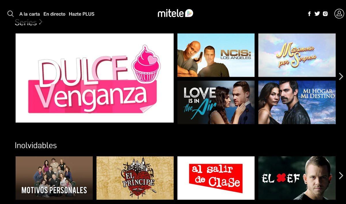 mitele television gratis espana