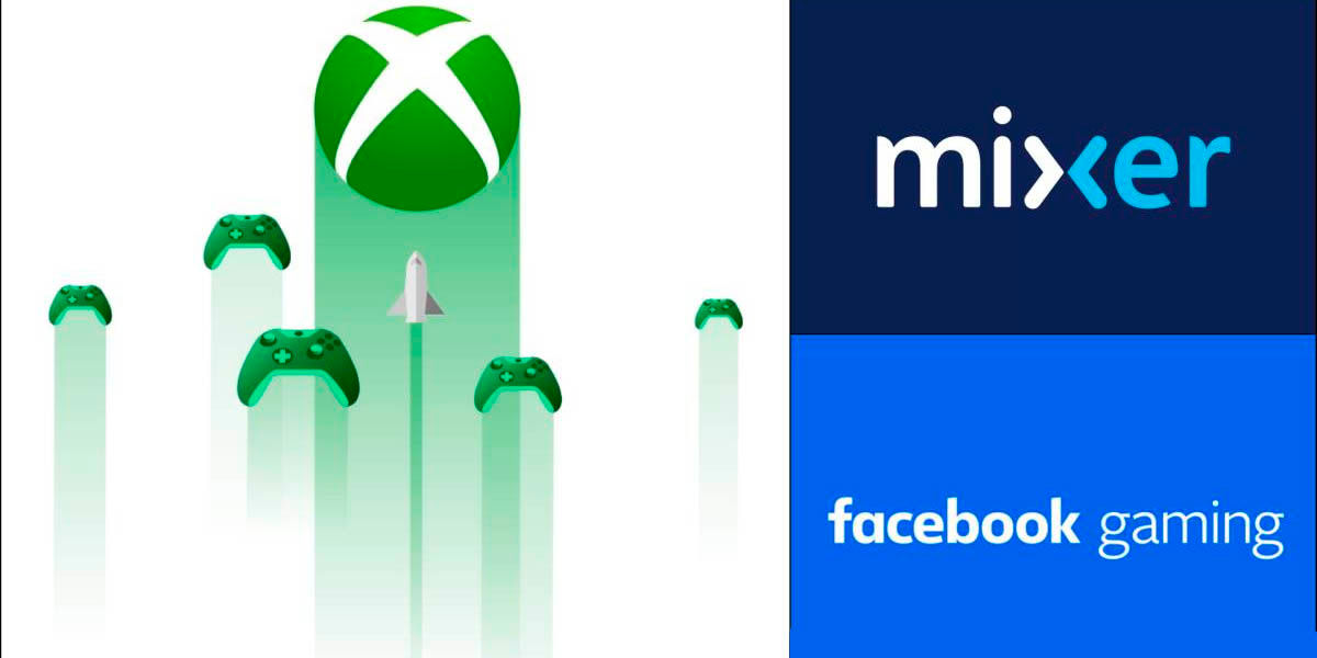 mixer se asocia con facebook gaming por project xcloud