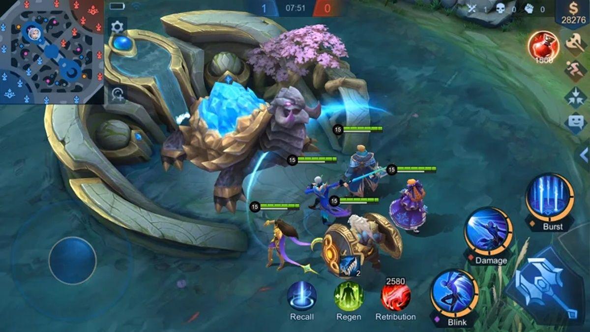 mobile legends bang bang gameplay
