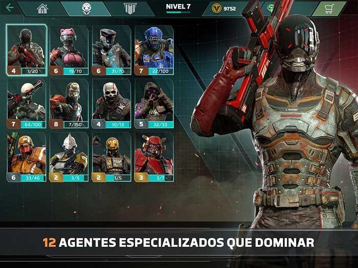 Modern Combat Versus descargar Android personajes