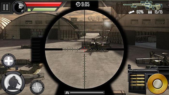 atirador moderno
